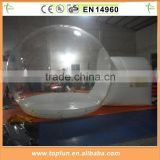 2015 Popular Transparent PVC Single Layer Air Dome Tent Inflatable For Sale                                                                         Quality Choice