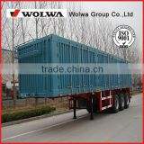 High quality Box cargo transport semi trailer for carrying home appliances, textiles, and building materials