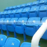 Outdoor sports field fixed folding plastic stadium seating chairs                                                                         Quality Choice