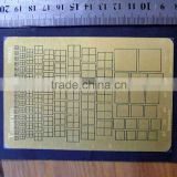 Top Quality Customized metal etching fpc plate,stainless steel 430 metal mesh grid for printer ---DH20738