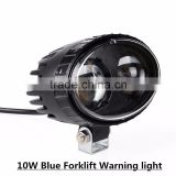 Warning Forklift Light 10W Blue IP67 Spot LED Safety Light warehouse forklift truck Light for industrial equipment lift trucks
