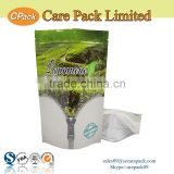 Custom stand up zipepr plastic products aluminum foil tea bag                                                                                                         Supplier's Choice