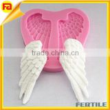 Silicone Angel Wing Fondant Silicone Sugar Craft Molds DIY Cake Decorating