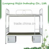 Multifunctional Popular Traditional Steel Double Decker Bed//High Quality Military Steel Bunk Bed