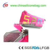 new design pencil case, factory price silicon pencil case from professional manufacturer