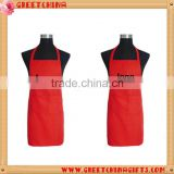 PVC coated kitchen waterproof apron promotional kitchen apron