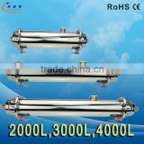 2000L/H Stainless Water Purifier Cover 0.01um UF Membrane Swimming Pool Water Filtration