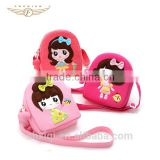 Cute Doll Design Eco-friendly Canvas Baby Bags for Kids