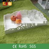 Europe style recycle wood wedding food cutlery tray                                                                         Quality Choice