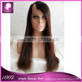 sunny grace hair top quality half wig half lace wig wholesale cheap brazilian vrigin human hair wig