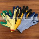 10 gauge napping lining latex crinkle gloves cheap latex gloves work safety gloves                                                                         Quality Choice