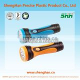 Newest desigh rechargeable LED electric torch flashlight