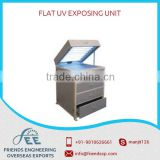 A Flat UV Exposing Unit For Flexo Plates Both Solvent And Water Washable