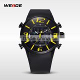 WEIDE men sports watch high quality 3atm water resistant stainless steel watch case