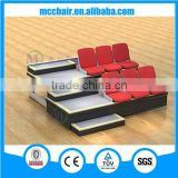 Celebration telescopic retrctable bleacher aluminum grandstand portable soocer basketball stadium seats