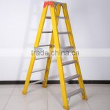 Fiberglass Double side step ladder with 3 meter / FRP Insulated ladder
