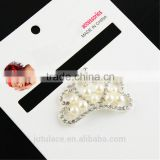 Boutique Chic wedding dress rhinestone buckles for invitations,DIY appliques