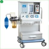 4 Tube Flow Meters Gas Anesthesia Machine With Medical Oxygen / Nitrous Oxide