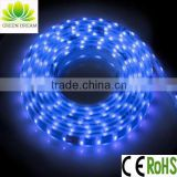 outdoor led strip lights , waterproof led strip lights for christmas decoration with R/G/B/Y/W/RGB option