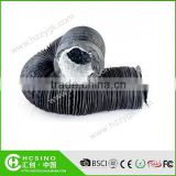 PVC flexible air duct,PVC & Aluminum Composite Flexible Duct,Non-insulated Aluminum Flexible Air Ducting
