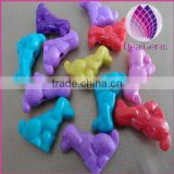 wholesale Bulk acrylic 14mm animal beads for kid diy jewerly
