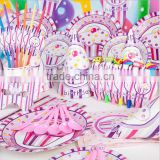 2016 kids birthday theme party supplies in China-disposable party supplies