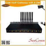 SC-0895iG Asterisk SMS supported 4 SIMS GSM SMS VoIP Gateway
