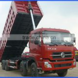 New Dongfeng 12 tire sand tipper truck