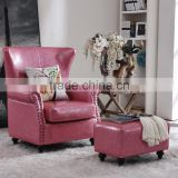 American Style Cheap Chesterfield Sofa Living Room Arm Chair, Single Sitting Living Room Sofa