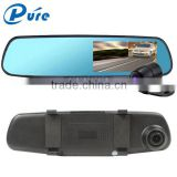 Factory Price Dual lens 1080P Car DVR Camera Mirror Dash Cam G-sensor HD Camera Car Recorder