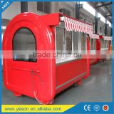 YS-BF230G bubble tea kiosk/mobile fast food car
