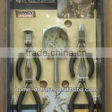 5pc household Carbon Steel Combination Pliers hand tool set