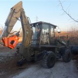 cheap price wz30-25 backhoe loader with cummins engine and joystick and air condition