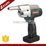 16V Li-Ion Cordless Riveter with riveting capacity 2.4,3.2,4.0,4.8mm