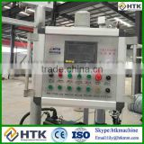 PLC automatic Cheap plastic coated chain link fencing machine