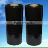 black stretch film Pallet Shrink Wrap Polyethylene Stretch Film