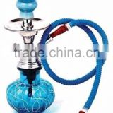 glass metal coloured antique hookah for sale