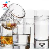 Factory direct sales of high-grade glass cup creative glass transparent glass liquor cup wholesale