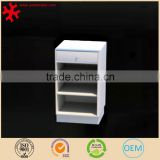Home furniture solid wood shoe display cabinet with drawer