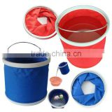 Wholesale 9L folding bucket for fishing/camping/washing car