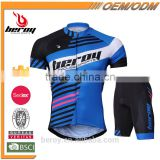 BEROY Brand New Bicycling Clothes, Thermal Cycling Jersey Activewear for Mountain Bike Riding
