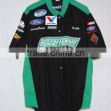 custom racing pit crew shirt wholesale