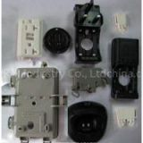 Industrial Plastic Parts/Plastic Injection Cover/Plastic Enclosures and Housings/Metal Insert Molding/Brass Insert Injection