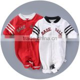 Wholesale White Baby Suit Soft Cotton Winter Baby Boy Romper