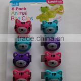 high quality ABS clip,animal bag clips