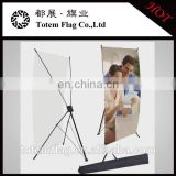 X Type Banner Stand Foldable Tripod Signage Holder Show Display