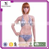 Made in China Beautiful Benifits Corset Floral Pattern Sexy Nude Black Models Micro Plus Bikini Swimwear