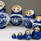 Wooden Russian Doll, Matryoshka Doll, Babushka doll
