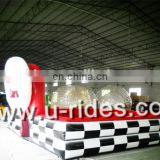 Battery Bumper Car with inflatable air race track (U-rides)