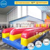 TOP service wrecking ball inflatable interactive run bungee jumping equipment for on sale